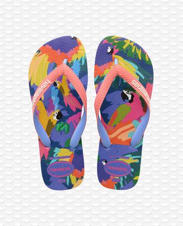 Havaianas Top Fashion - Blue Star - Flip Flops - Women