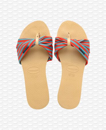 Havaianas You Saint Tropez - Sandali - Color Avorio - Donna