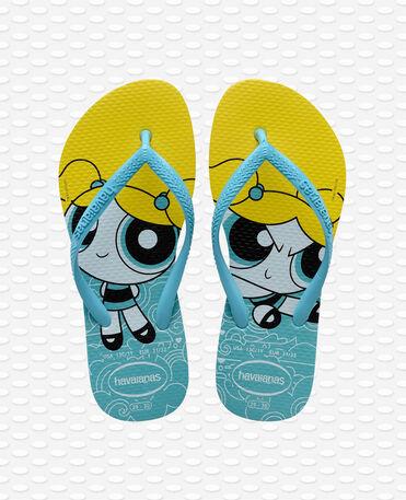 Havaianas Slim Powerpuff Girl - Blue Flip flops Women