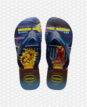 Havaianas New Top Max Street Fighter