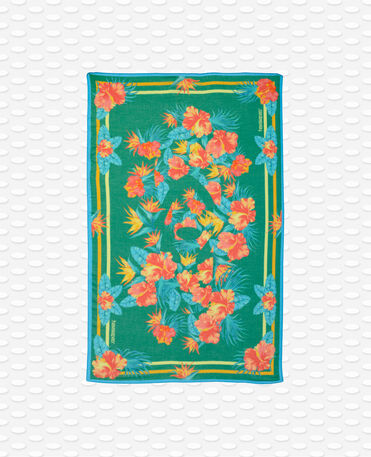 Havaianas Canga Floral - Bush green - Towel