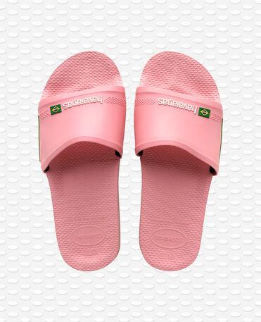 Havaianas Slide Brasil - flip-flops - MACARON PINK - unisex