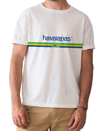 T-SHIRT HAVAIANAS LOGO BRASILE