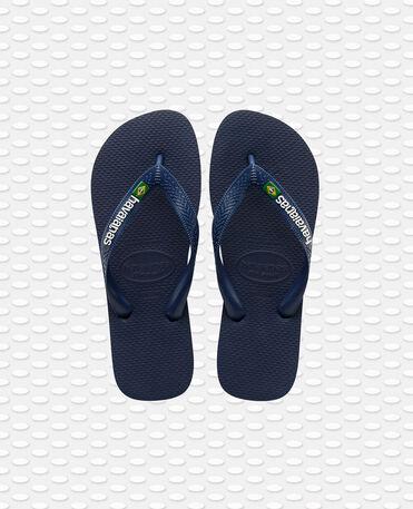 Havaianas Brasil Logo - flip-flops - NAVY BLUE - unisex
