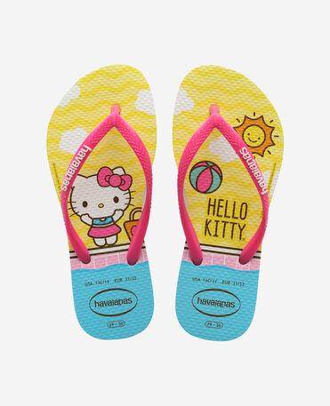 Havaianas Kids Slim Hello - flip-flops - WHITE - niño