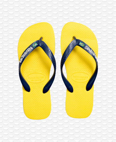 Havaianas Brasil Layers - Citrus yellow - Flip flops