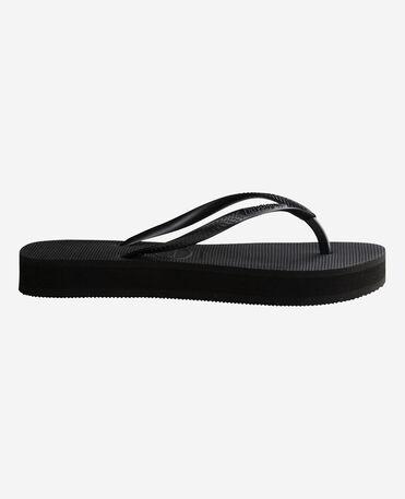 Havaianas Slim Flatform - flip-flops - BLACK - mujer