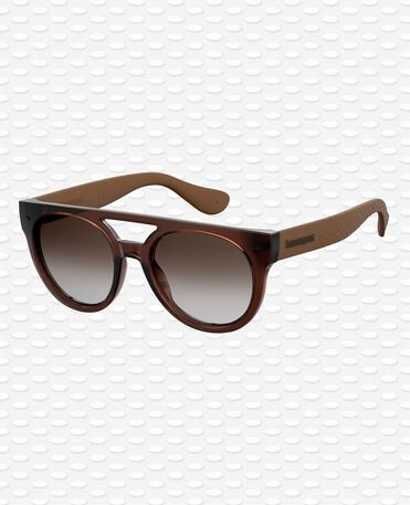Havaianas Eyewear Buzios Shaded - Brown Sunglasses
