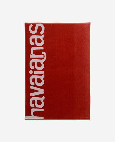 Havaianas Towel Logomania - complehombretaries 1 - RUBY RED - unisex