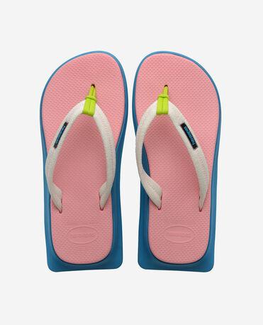 Havaianas Tradi Zori - flip-flops - PINK/BLUE - unisex