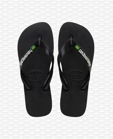 Havaianas Brasil Logo - Black - Flip flops
