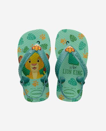 Havaianas Baby Disney Classics II - flip-flops - GREEN DEW - unisex