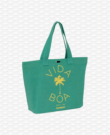 Havaianas shopping bag  - Bolso de playa Verde