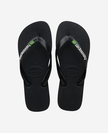 Havaianas Brasil Logo - flip-flops - BLACK/BLACK - unisex