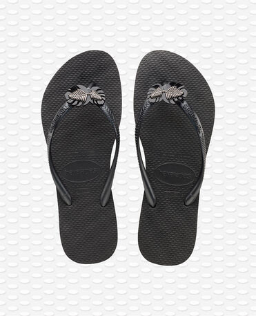 Havaianas Slim Metal - Black Flip flops Women