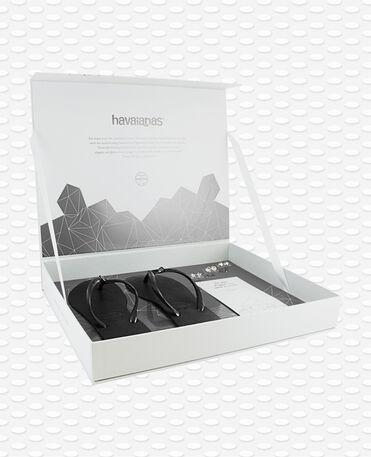 Havaianas GlamBox - Tongs Noires Femme