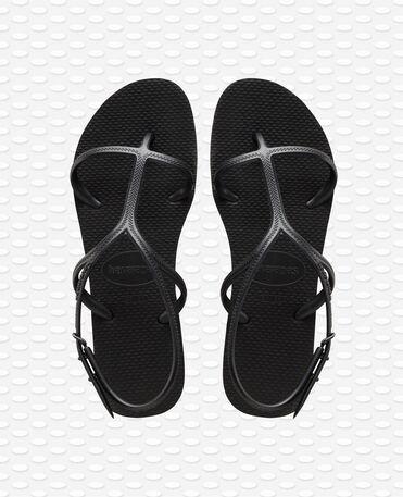 Havaianas Allure - Negro - Flip Flops - Mujer
