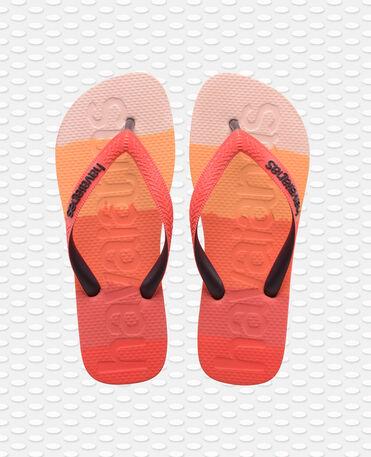 Havaianas Top Logomania - flip-flops - GRADIENT RED CRUSH - unisex