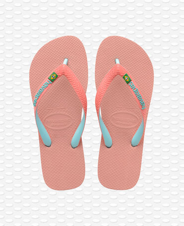Havaianas Brasil Mix - Tongs - Rose nue