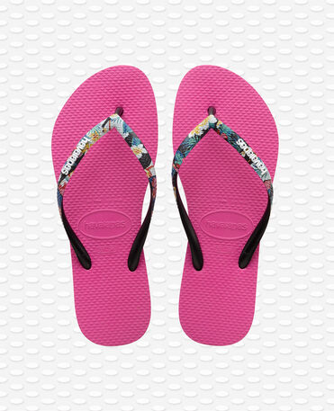 Havaianas Slim Strapped - Hollywood Pink Flip flops Women