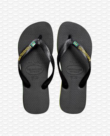 Havaianas Brasil Layers - Black - Flip flops