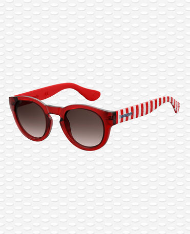 Havaianas Eyewear Trancoso Shaded - Red / White Sunglasses