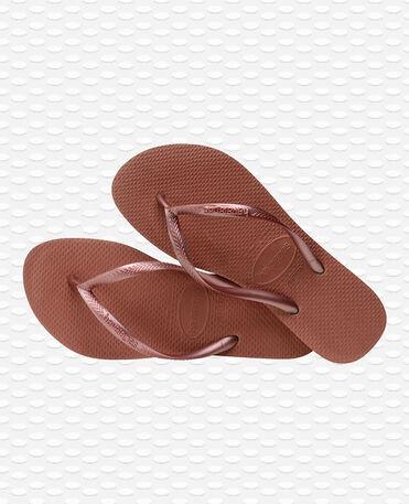 Havaianas Slim - Tongs - Bronze Nude - Femmes