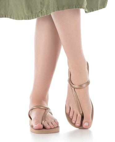 Havaianas Flash Urban - Tongs - Or Rose - Femmes
