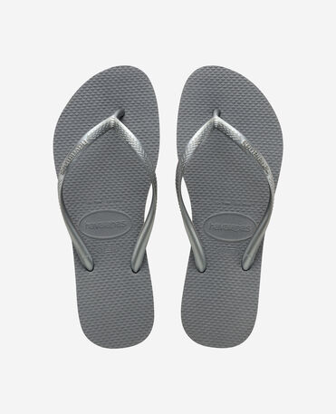 Havaianas Slim - flip-flops - STEEL GREY - female