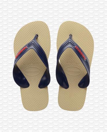 Havaianas Kids Max - navy blue/beige - Flip flops - Kids