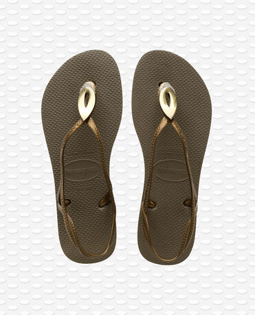 Havaianas Luna Special - Olive green - Sandals - Women