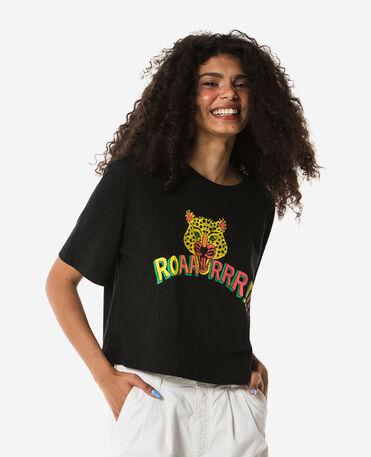 "Havaianas  T-shirt  ""Roar Lion"" - BLACK"