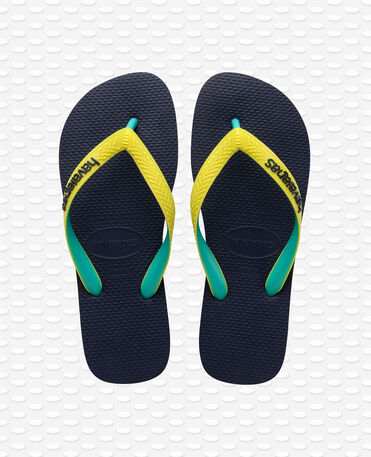 Havaianas Top Mix - Navy / Neon Yellow - Flip Flops - Women
