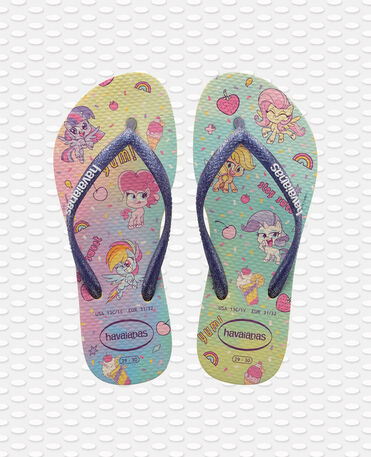 Havaianas Kids Slim - flip-flops - LEMON YELLOW - niño
