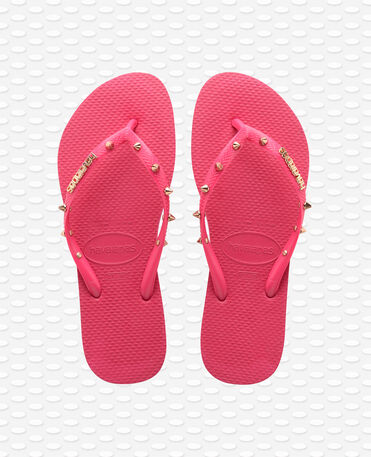 Havaianas Slim Hardware - Tulip - Flip Flops - Women