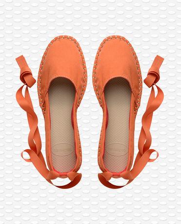Havaianas origine slim - Pumpkin - Espadrilles - Women