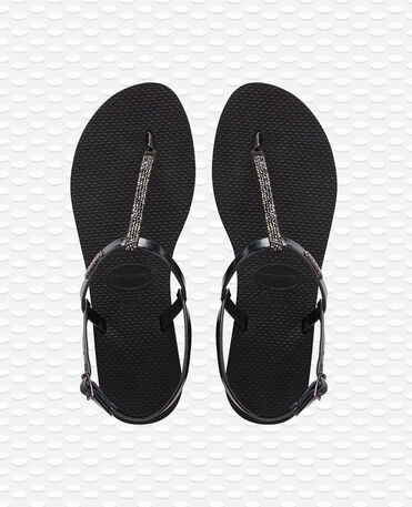 Havaianas You Riviera Crystal - Black - Flip Flops - Women