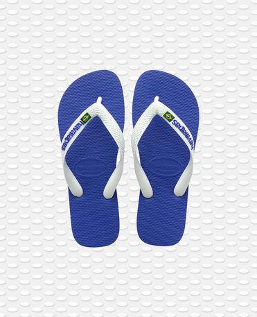 Havaianas Brasil Logo - flip-flops - MARINE BLUE - unisex