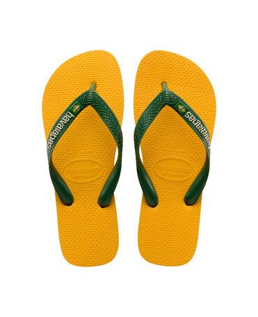 Havaianas Yellow Brasil Logo