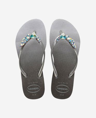 Havaianas Slim Polygon - flip-flops - ICE GREY - mujer