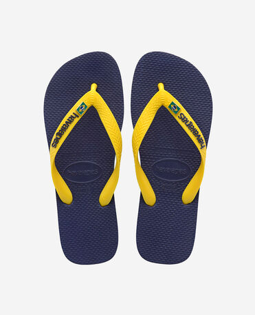 Havaianas Brasil Layers - flip-flops - NAVY BLUE - unisex