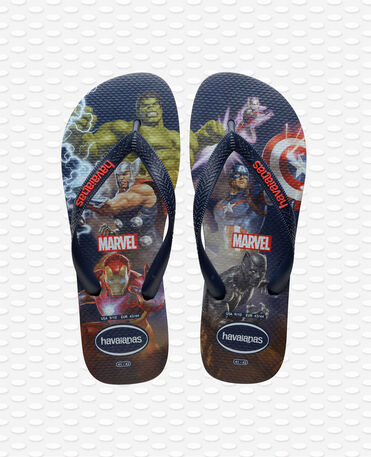Havaianas Top Marvel - Navy blue - Flip flops - Men