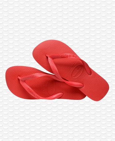 Havaianas Top - Chinelos - Vermelho Rubi - Mulher