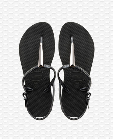 Havaianas Freedom Maxi - Black - Sandals - Women