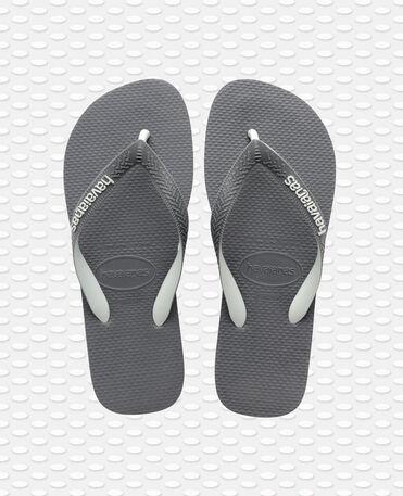 Havaianas Top Mix - flip-flops - STEEL GREY/STEEL GREY - unisex