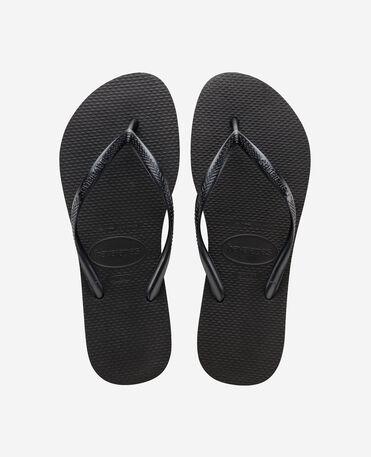 Havaianas Slim - flip-flops - BLACK - female