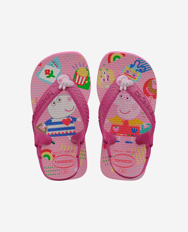 Havaianas Baby Peppa Pig - flip-flops - PINK FLUX - bebe