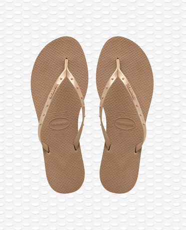 Havaianas You Maxi - Rose Gold - Flip Flops - Women