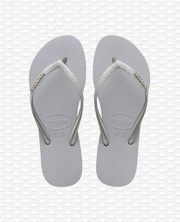 Havaianas Slim Glitter - Steel Grey Flip flops Women