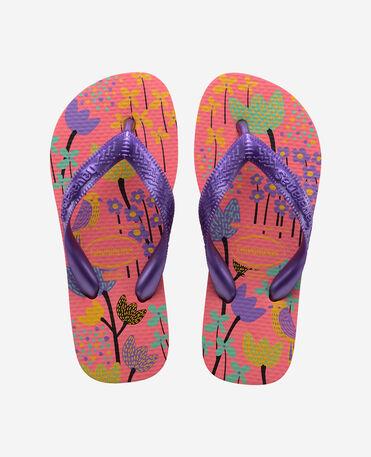 Havaianas Kids Flores - flip-flops - PINK PORCELAIN - unisex